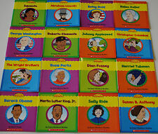 16 Very First Biographies Reading Book Lot Set Homeschool Kindergarten Grade 1