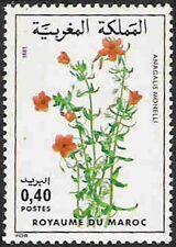 YT 880  MAROC Timbres Neuf ** TTB   Fleurs - Anagalis monelli
