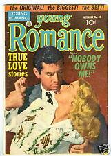 Young Romance #40 Vg December 1951 Kirby Art