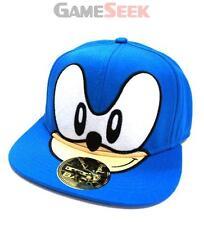 SEGA SONIC THE HEDGEHOG BIG FACE SNAPBACK BASEBALL CAP, ONE SIZE, BLUE