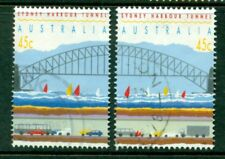 1992 Australian Decimal - Sydney Harbour Tunnel - $0.45 - USED Sheet Stamp[6046]