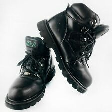 Size 12 Leather Steel Toe Rugged Safety RMKTRADIE-BBF120 Mack Tradie Mens Pull-On Safety Boots Black 6
