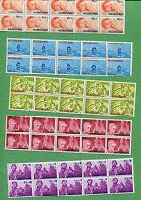 10 Sets of 1966 Netherlands Stamps B414-B418 Cat. Value $23 Child Welfare Surtax