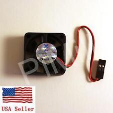 PiMill DC 5V 2pin 30x30MM Cooling Fan for Raspberry Pi 3 Model B B+ (B plus)