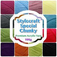 Stylecraft SPECIAL CHUNKY Premium Acrylic Knit Knitting/ Crochet Yarn Wool 100g