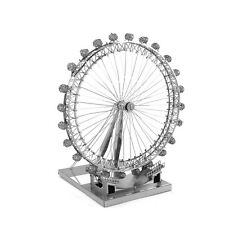 Fascinations Iconx London Eye 3D Metal Earth Steel Laser Cut Puzzle Model Kit
