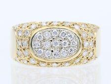 Valor: 2.200,- EUR vintage anillo 0,60 quilates brillante 750 oro Italia para 1970