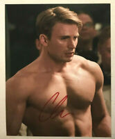 "Chris Evans ""Captain America"" Autographed Hand Signed 8x10 Photo w/Hologram COA"