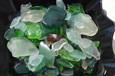 natural sea beach glass mixed color lot bulk wholesale