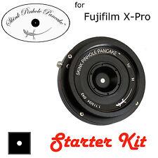 Skink Pinhole Pancake Obiettivo Retrò STARTER KIT Fujifilm FX x-a2 2 pacchetto accessori