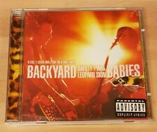 BACKYARD BABIES 'SAFETY PIN AND LEOPARD SKIN' - CD ALBUM