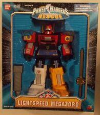 "Power Rangers Lightspeed Rescue - 9"" Medium Lightspeed Megazord Bandai (MISB)"