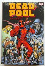 Deadpool Classic Vol. 1 Marvel Omnibus NEW Hardcover Graphic Novel Comic Book