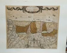 18th Century Ottens Map of Palestine Printed in Amsterdam
