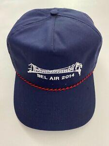 G/Fore Bel Air 2014 Golf FlexFit Snapback Blue Hat Cap Tech  Limited Edition