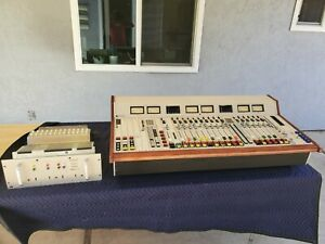Pacific Recorders PR&E BMX III-22 Broadcast Console w/ Power Supply