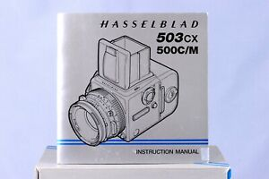 [Near Mint] Hasselblad 503CX 500CM instruction Manual in English, [from Taiwan]
