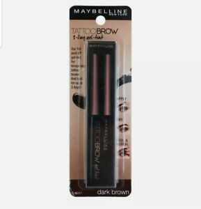 🌷🌷🌷Maybelline Tattoo Brow Gel Tint🌷Dark Brown🌷FREE SHIPPING🌷NEW🌷🌷