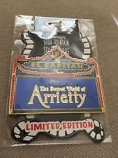 Dsf  The Secret World Of Arrietty Marquee Studio Ghibli Disney Pin LE 150 RARE