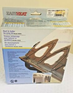 Easy Heat ADKS-300 Roof/Gutter Cable De-icing Cable, 60-Ft Complete Kit