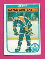 1982-83 OPC # 106 OILERS WAYNE GRETZKY VG  CARD (INV# D1626)