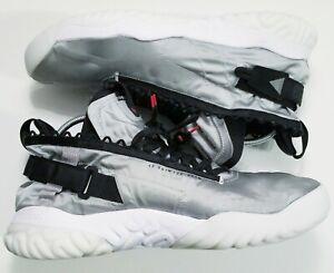Nike Air Jordan Protro-React Gray Silver Black BV1654 002 Sz 18