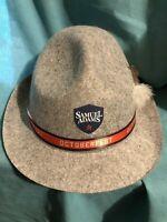 5 Samuel Sam Adams Octoberfest Alpine Hats Gray Lot Costume Bachelor Festival