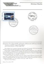 ITALIA 1999 AVVENTO ANNO DUEMILA  BOLLETTINO COMPLETO DI FRANCOBOLLI FDC