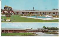 "Valdosta GA  ""The El Carlo Motel""  Postcard Georgia"