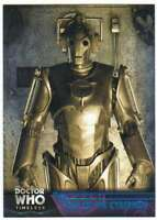 2016 Topps Doctor Who Timeless Blue Foil Parallel /99 #50 Rise of the Cybermen