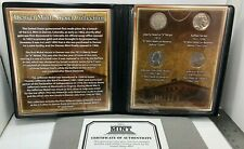 Denver Mint Nickel Collection ~ First Commemorative Mint COA (4 Coins)