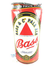 Vintage Bass Beer Can Inflatible Bar Decor Party