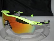 CUSTOM OAKLEY M2 XL Sunglasses Retina Burn Neon w/ Black / Fire Iridium