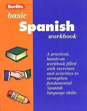Berlitz Basic Spanish (Workbook Series , Level 1)-ExLibrary