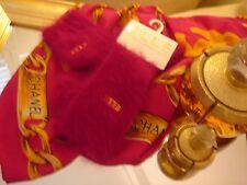 NEW Elle Luxury Angora pink socks fluffy Thermal Ski Winter Sports Arthritis M