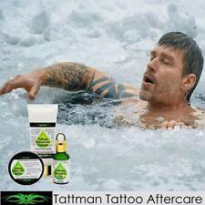Tattoo Aftercare Kit. Repair Cream, Daily Balm, Healing Oil, Australia's Premium