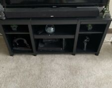 Mainstays 42 inch Center Home Theater TV Stand - Rustic Oak