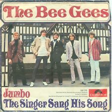 "THE BEE GEES - JUMBO ( GERMAN POLYDOR 59176) 7""PS 1968"