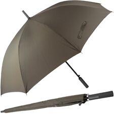 HUGO BOSS Partnerschirm XXL 130cm Groß Regenschirm Griff Gerade Golf Schirm Neu