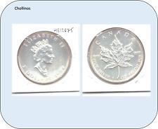 5 DOLARES DE PLATA AÑO 1992 CANADA     ( MB12675 )