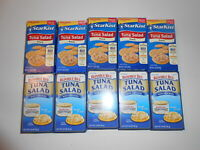 Starkist Tuna Salad with Crackers / Bumble Bee Canned 3.3 Oz Pack of 10