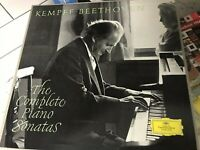 KEMPFF BEETHOVEN THE COMPLETE PIANO SONATAS Germany 10 LP DGG TULIPS KL 42/51