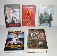 Joblot Wholesale of 5 BOOKS Hardback - BUNDLE – HIGH QUALITY