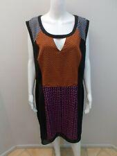 CITY CHIC MULTI PANEL DRESS SIZE XL=20/22    (#P1356)
