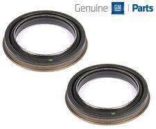 For Chevy Silverado Suburban GMC Pair Set of 2 Rear Wheel Seals Genuine 20889025