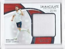 2018-19 Gary Cahill #/99 Jersey Panini Immaculate England Soccer