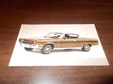 1970 AMC Ambassador SST 2-Door Hardtop Advertising Postcard