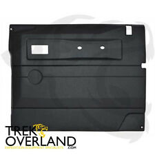 Land Rover Defender 87-06 Fr RHS Interior Door Blk Trim Panel DA2444