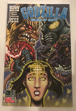 GODZILLA RULERS OF EARTH #9 KING CAESAR 1:10 RETAILER INCENTIVE VARIANT IDW NM