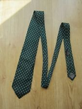 Gianfranco Ferre  Made in Italy SILK TIE - Green Dots design